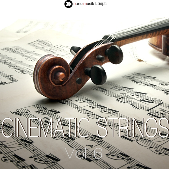 Nano Musik Loops Cinematic Strings Vol 6 ACiD WAV REX MiDi-DISCOVER
